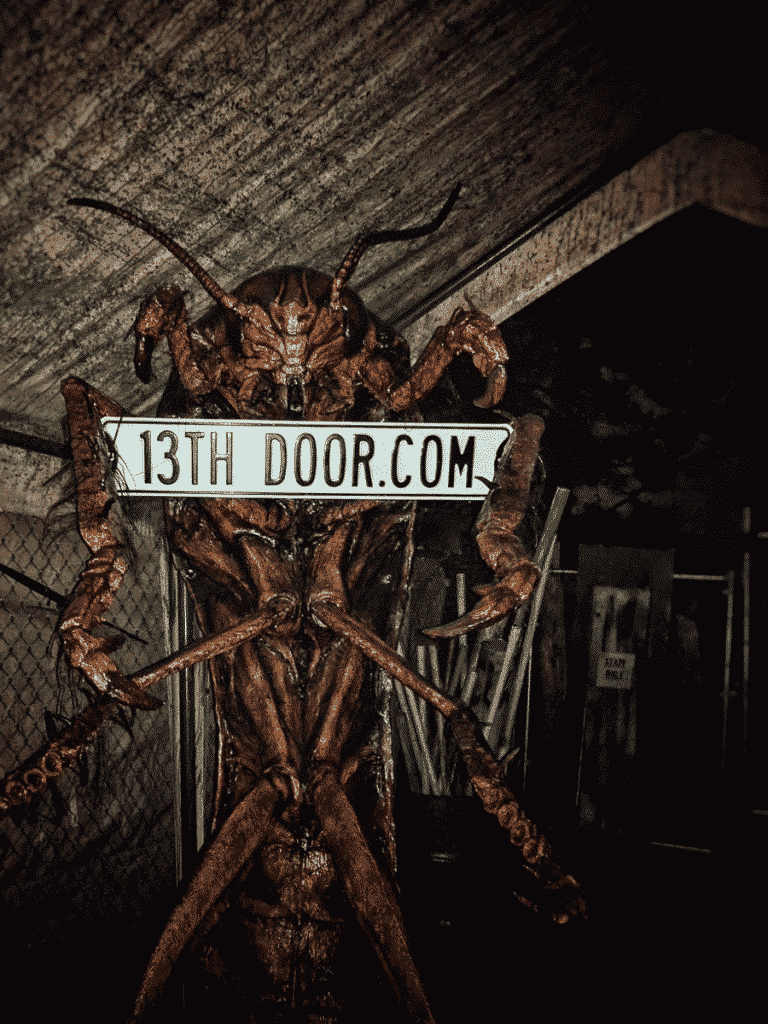 13th door haunted house in portland uses elaborately detailed sets