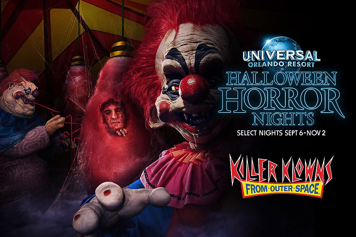 Killer Klowns Maze Comes to Horror Nights Orlando