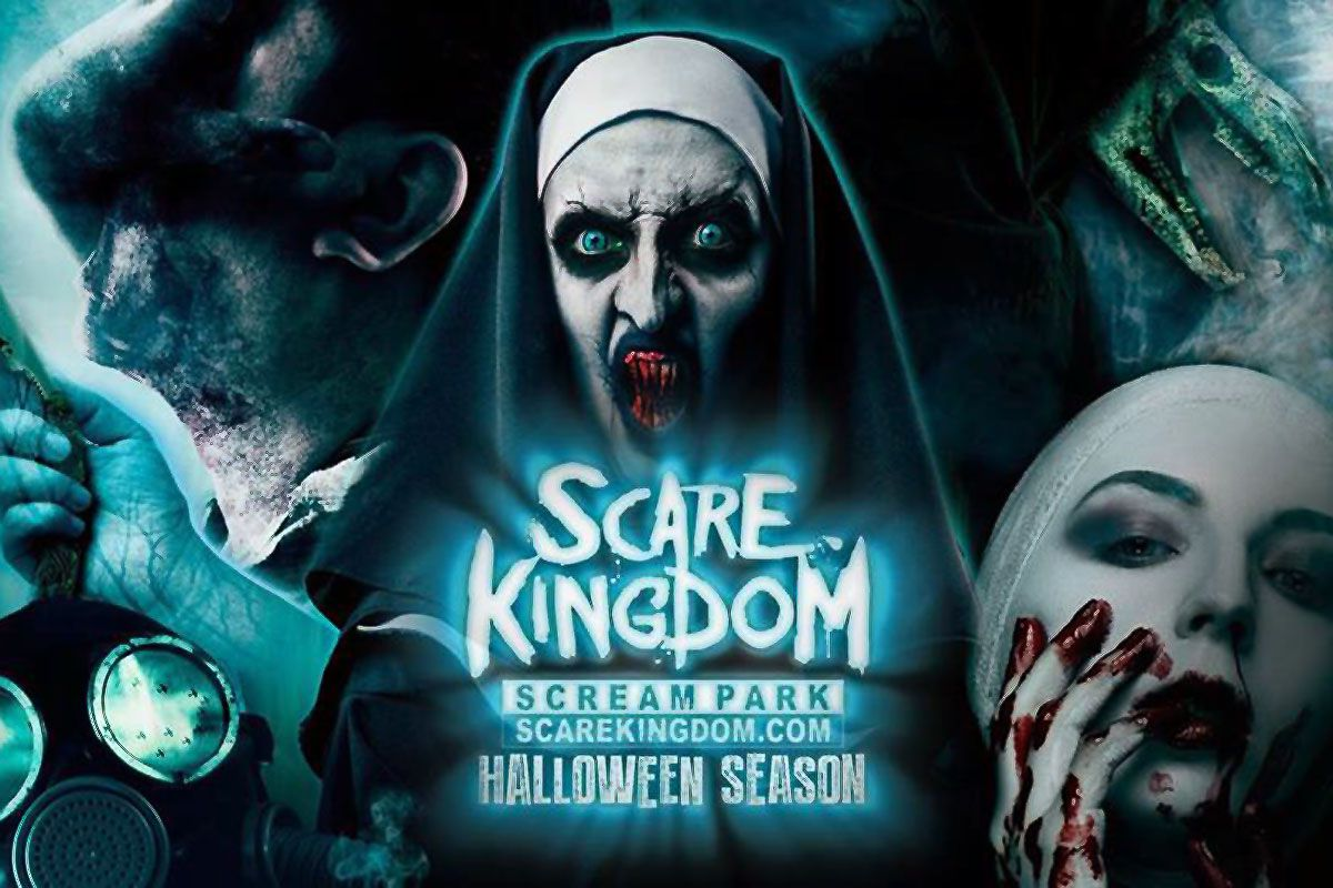 Walpurgis Night at the UK's Scare Kingdom Scream Park