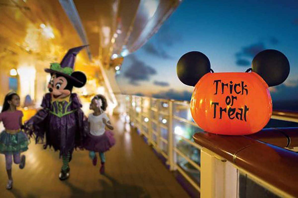 Celebrate Halloween on the High Seas with Disney!