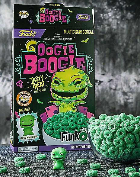 FunkO's Oogie Boogie and Ursula Cereals Provide Fuel for Haunters