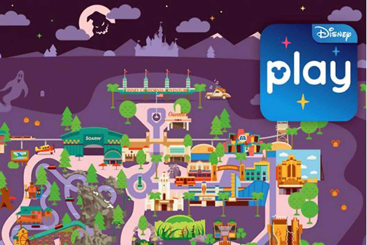 Play Disney Parks App's Halloween Overlay