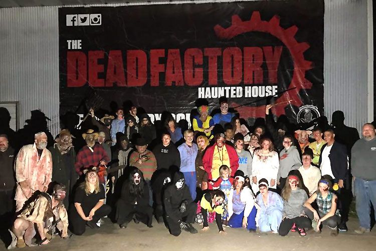 Dead Factory Haunted House in Mexico, Missouri Focuses on Phobias