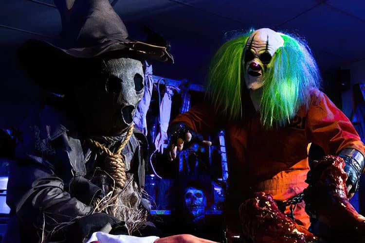Call in the Clowns at Mohican Haunted Schoolhouse